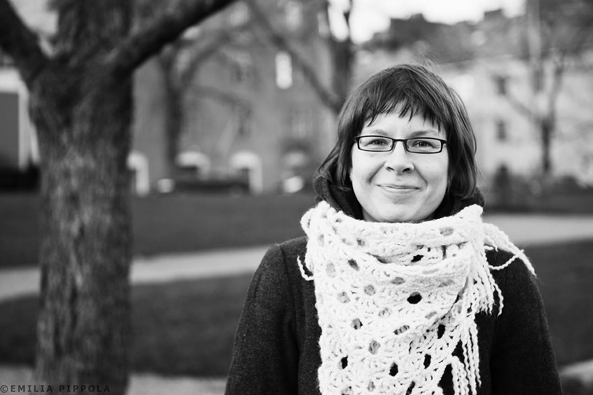 Annan 30-vuotiskuva Torkkelinmäellä syksyllä 2011.