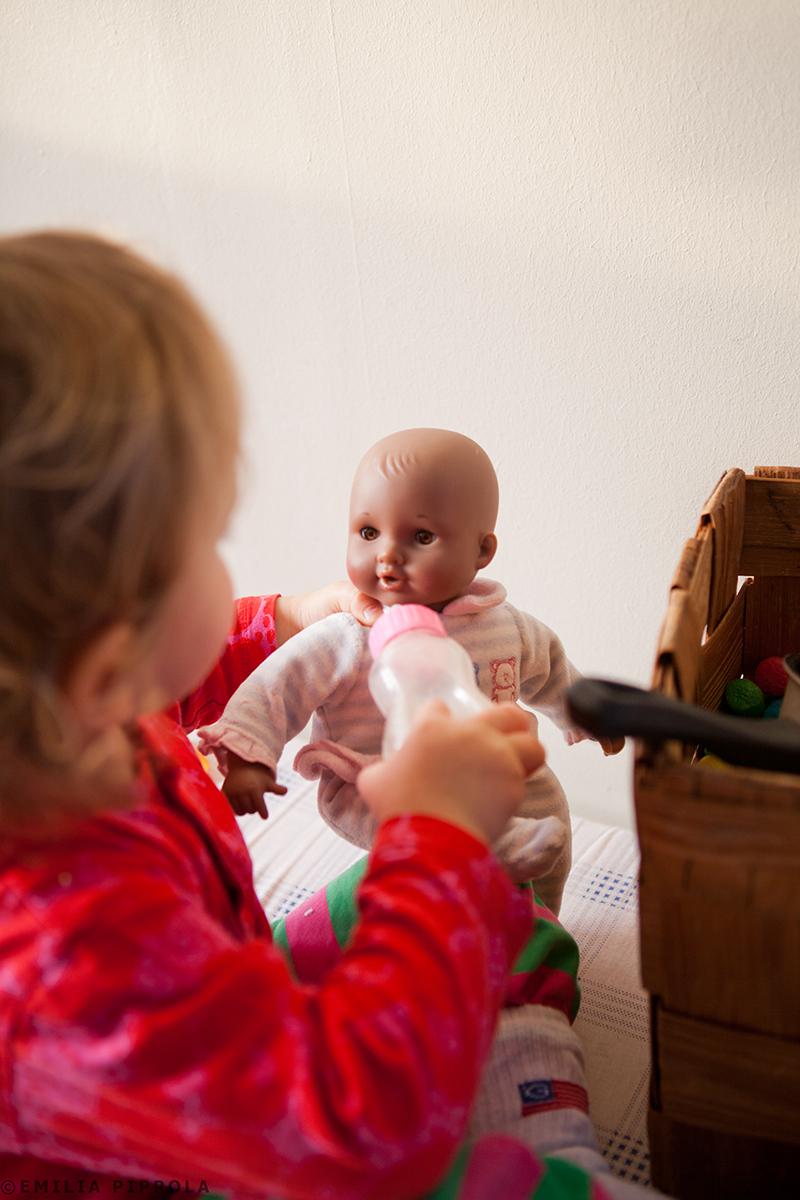 Uoti ja vauva