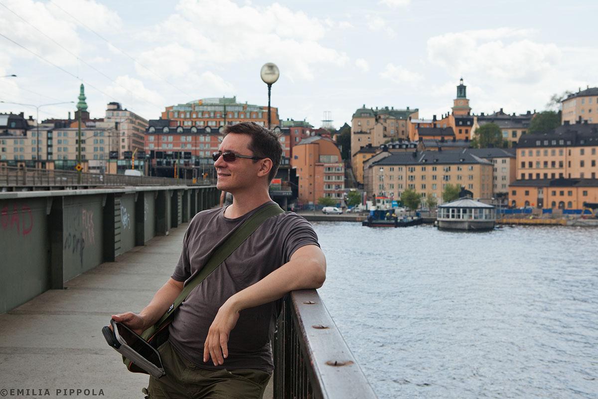 Ruotsinlaivalla Tukholmaan ja Uppsalaan heinäkuussa 2014.