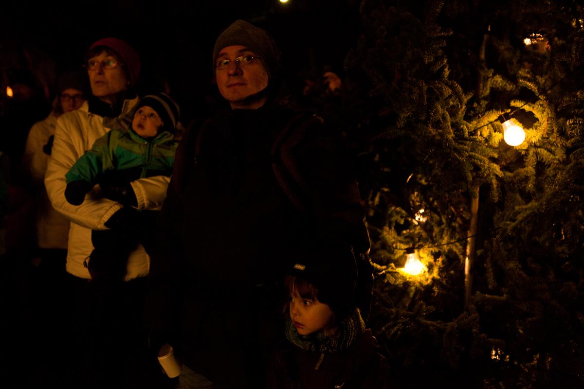 Joulurauhan julistus Seinäjoen Kapernaumissa